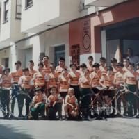 Imagen de Presentación de la Escola Ciclista de Sueca (Valencia) del año 1988