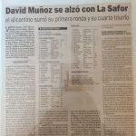 Volta a la Safor para juveniles del año 1997 - Gandia (Valencia)