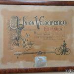 Imagen de Diploma de Routier a Tomás Penalba en 1902 – Barcelona