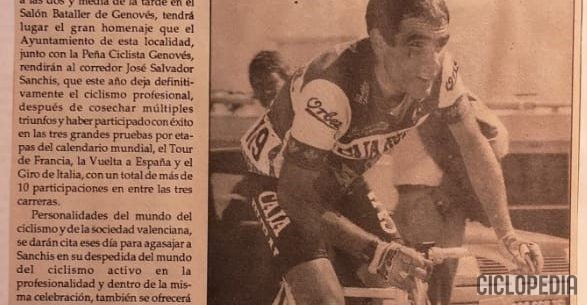 Imagen de Homenaje a Salvador Sanchis, Genovés (Valencia) – 1992