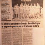 Trofeo Fira d'Agost para cadetes en Xàtiva (Valencia) - 1992