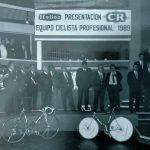 Presentación del equipo profesional Colchones CR en Xàtiva (Valencia) de 1989